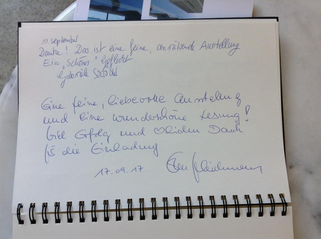 "Gästebuch ""Erzählte Momente"""