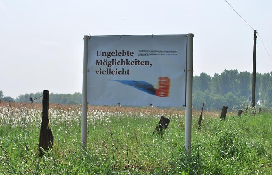 Straßenrandtexte, Hoegenhausen bei Bremen